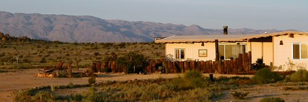 Photo of a House in the Desert