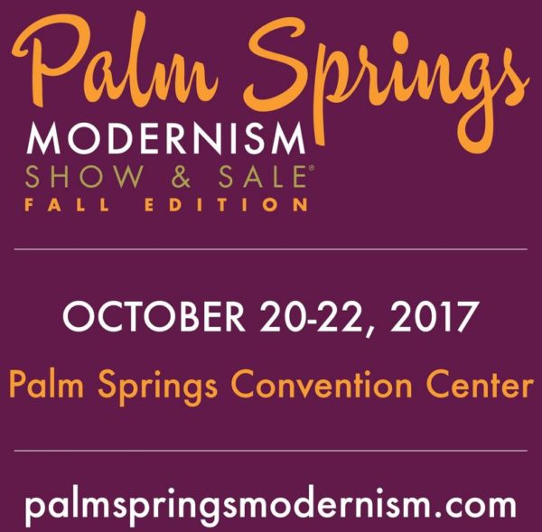 The Fourth Annual Palm Springs Modernism Show & Sale – Fall Edition will feature 40 premier national and international dealers offering furniture, ...