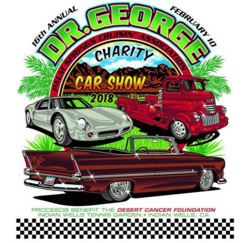 Dr Georges Charity Car Show - Palm springs classic car show